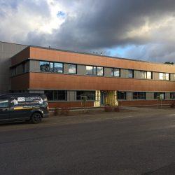 Biroja ēkas, angāra būvniecība un teritorijas labiekārtošana Mārupē