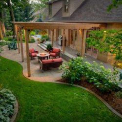 Privātmājas pagalma dizains
